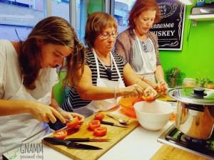Corso di cucina - Lavorazione verdure