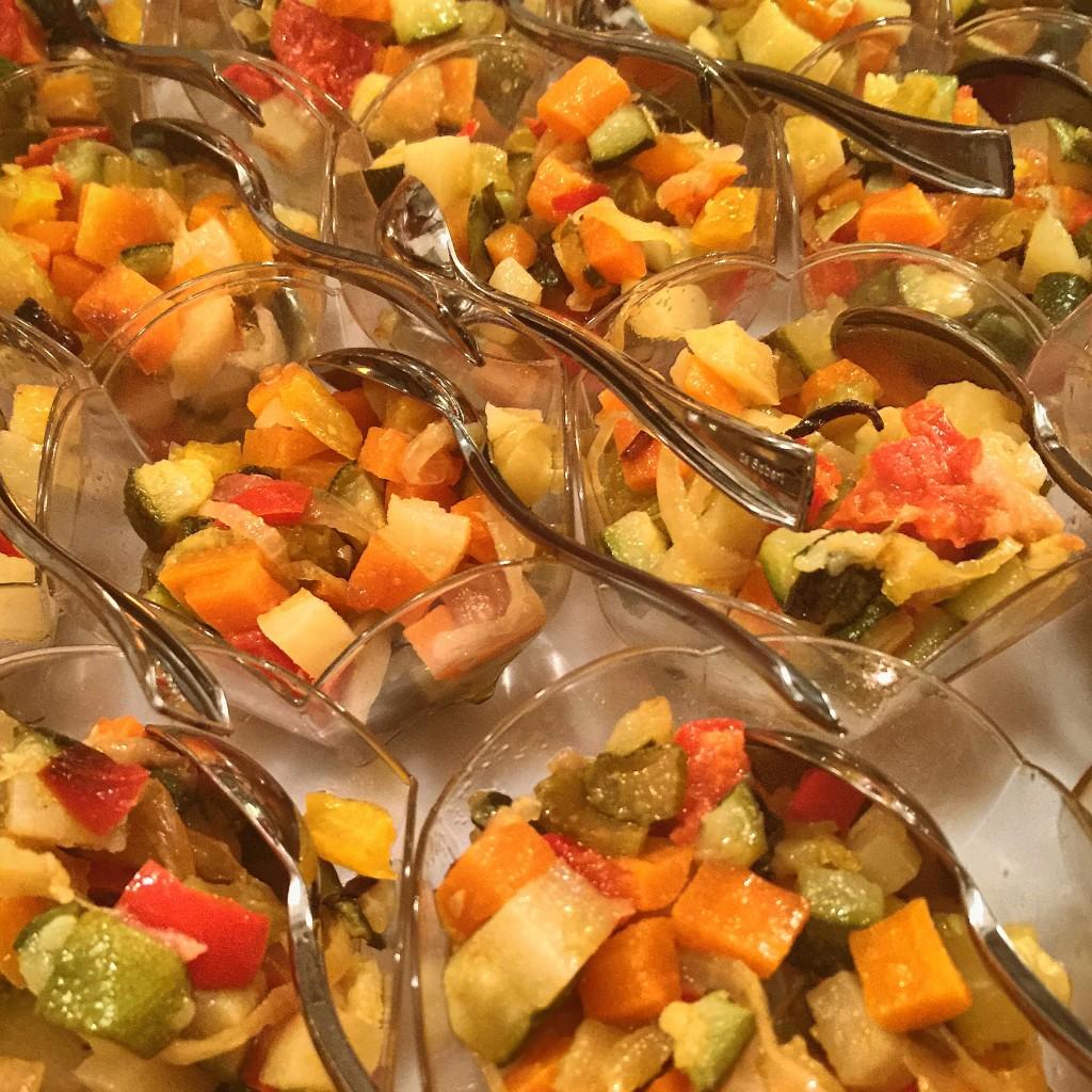 Bicchierini di ratatouille provenzale al basilico - Gnamm Personal Chef