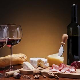 cibo vino