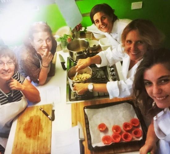 corsi di cucina a domicilio Gnamm Personal Chef