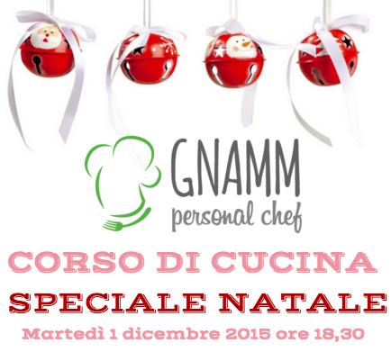 Flyer Corso di cucina - Speciale Natale